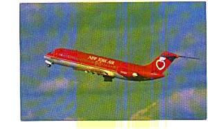 New York Air DC-9-32 Airline Postcard jun3272a (Image1)