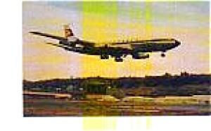 Lufthansa 707-330C Postcard jun3295 (Image1)