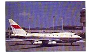 CAAC  747SP-J6 Airline Postcard jun3311 (Image1)