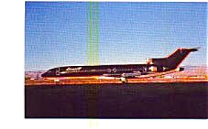 Braniff 727-227 Airline Postcard jun3315 (Image1)