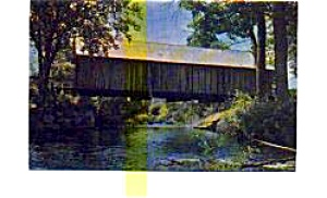 Turkey Jim's Covered Bridge  NH Postcard (Image1)