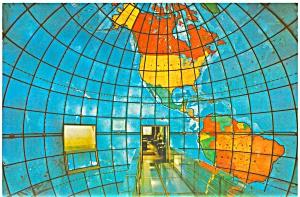Boston  MA  Christian Science Mapparium Postcard #26 lp0006 (Image1)