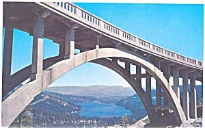 Donner Lake California Postcard lp0025 (Image1)