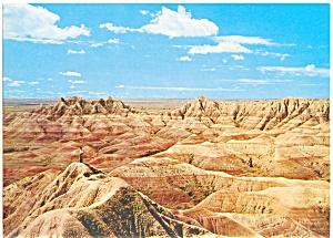 Badlands of South Dakota Postcard lp0052 (Image1)