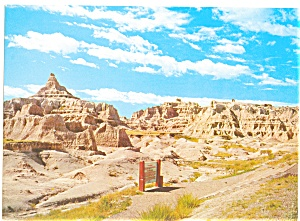 Fabulous Badlands of South Dakota Postcard (Image1)