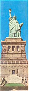 New York City NY Statue of Liberty Postcard lp0093 (Image1)