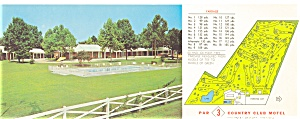 Colonial Heights, VA, Par 3 Country Club Motel Postcard (Image1)
