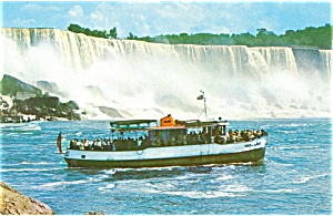 New Maid of the Mist Steamer Postcard lp0109 (Image1)