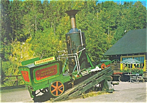 Mt Washington NH Old Peppersass Engine Postcard lp0116 (Image1)