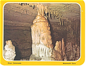 Mammoth Cave KY Colonnade Postcard lp0123 (Image1)