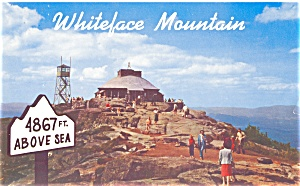 Summit House Whiteface Mountain Hwy NY Postcard lp0132 (Image1)