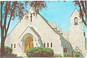 Proctor VT St Dominic s Church Postcard lp0144 (Image1)