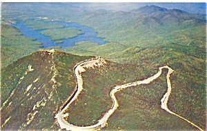 Whiteface Mountain NY Hwy Tower Castle Postcard lp0168 (Image1)
