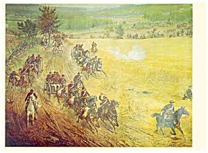 Gettysburg PA New York Battery Postcard lp0182 (Image1)