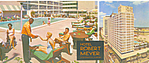 Hotel Robert Meyer Jacksonville FL Postcard lp0210 (Image1)