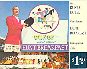 The Dunes Hotel Las Vegas NV Postcard lp0240 (Image1)