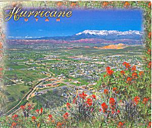 Hurricane Utah Postcard lp0269 1998 (Image1)