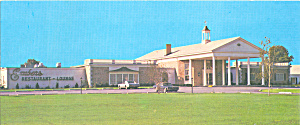 Quality Inn And Embers Restaurant Carlise Pa Postcard Lp0274