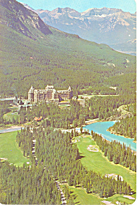 Banff Springs Hotel Banff  Alberta Canada Postcard lp0301 (Image1)