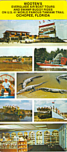 Wootens Everglades Air Boat Tours Lp0311