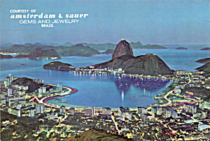 Sugar Loaf and Botatogo Bay by Night,Rio de Janeiro (Image1)