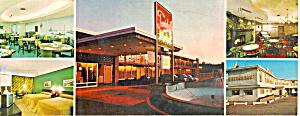 Towndale Motel Restaurant Lounge PA Postcard lp0346 (Image1)