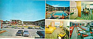 Stowaway Motel Ocean City Maryland Postcard lp0348 (Image1)