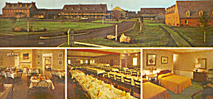 Historic Strasburg Inn PA Postcard lp0350 (Image1)