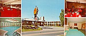 Quality Court Plaza Postcard lp0351 (Image1)