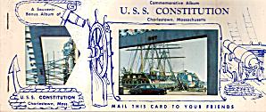USS Constitution Commemorative Album (Image1)