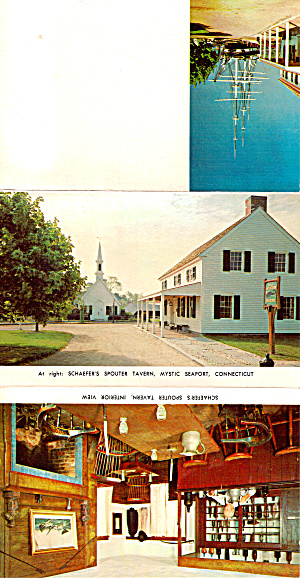 Schaefer S Spouter Tavern Mystic Seaport Connecticut Lp0410
