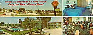 Quality Courts Motel West Ocala Florida Postcard lp0412 (Image1)