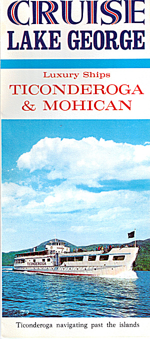 Cruise Lake George Ships Ticonderoga Mohican Lp0425