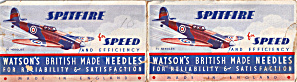 Spitfire for Speed and Efficiency Watsons Needle Pack lp0479 (Image1)