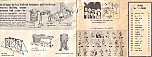 Small Folder of Plasticville Items from 1958 (Image1)