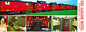 Brochure Of The Red Caboose Motel Strasburg Pa Lp0487