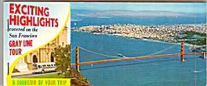 San Francisco CA Souviner Folder of Postcards (Image1)