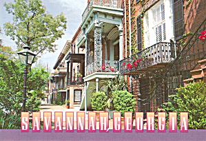 Restored Houses Savannah GA lp0531 (Image1)