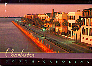 East Battery at Dawn, Charleston, SC (Image1)