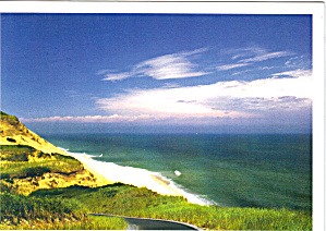 Long Nook Beach, Cape Cod, MA Large Postcard (Image1)