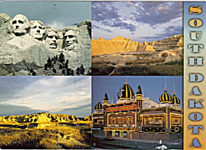 Corn Palace, Mt Rushmore,Badlands, SD (Image1)