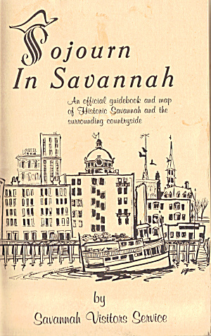 Sojourn In Savannah, Official Guidebook 1968