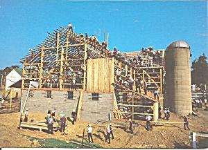 Amish Barn Raising Love Thy Neighbor lp0574 (Image1)