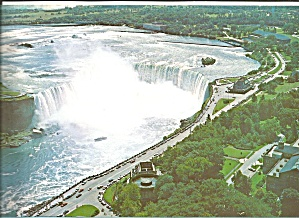Horseshoe Falls From Skylon Tower Niagara Falls Lp0576