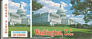Washingtn DC Souvenir Folder of Postcards (Image1)