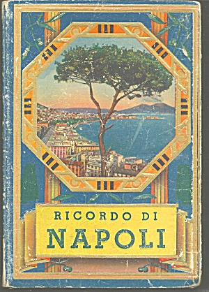 Vintage Booklet of Views of Naples Italy lp0692 (Image1)