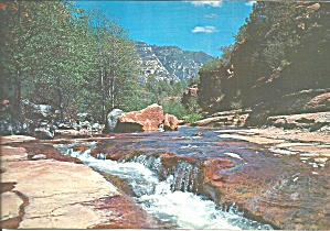 Oak Creek Canyon Az River Rapids Lp0698