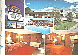 Owen Sound Ontario Canada Diamond Motel lp0736 (Image1)