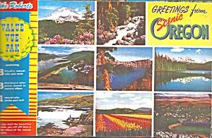 Oregon in Multiple Postcards Lot of 9  lp0738 (Image1)