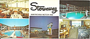 Ocean City Md Stowaway Americana Motor Inn Lp0747